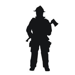 Fireman Silhouettes