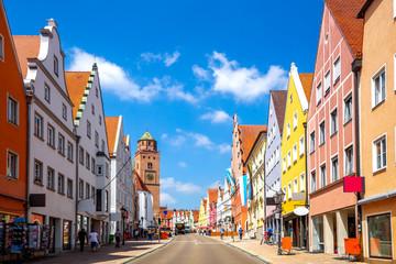 Liebfrauenmuenster, Donauwörth, Bayern, Deutschland  Fototapete