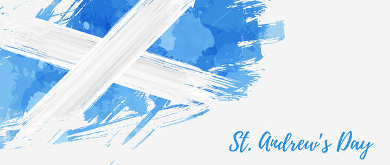 St. Andrew's day holiday background