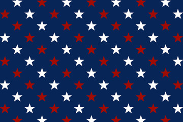 USA background. American style background with USA flag elements.
