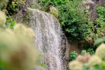 Papiers peints Rivière de la forêt waterfall in the forest