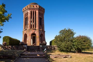Tour Mémorial bataille 1870 Elsasshausen en Alsace