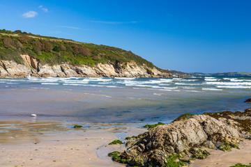 Fototapete - Maenporth Beach Falmouth Cornwall England