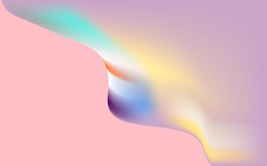 abstract gradient background: multicolor