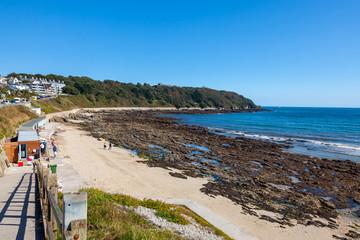 Fototapete - Castle Beach Falmouth Cornwall England