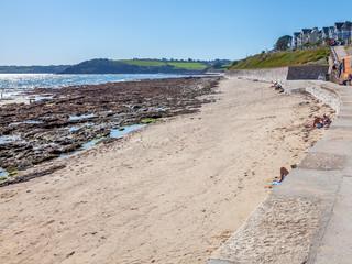 Castle Beach Falmouth Cornwall England