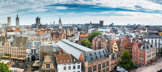 City of Ghent, Belgium