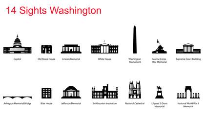 14 Sights of Washington, D.C.