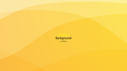 Yellow tone color background abstract art vector