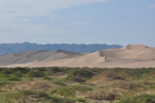 Mongolie intérieure, Desert de Badain jaran