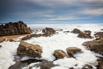 Sandymouth Beach Cornwall England UK