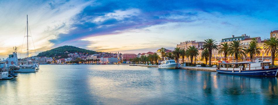 Split - Kroatien am Abend