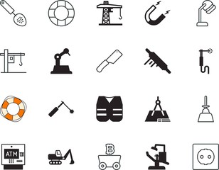 equipment vector icon set such as: geometry, drying, rubber, ethereum, dryer, perfect, wheel, fork, mini, hairdo, usa, outlet, grey, protective, adapter, healthcare, physics, hospital, attract