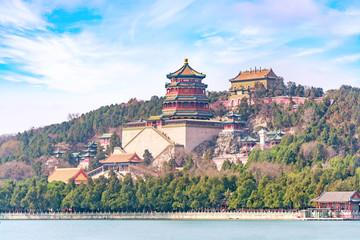 Fotobehang Peking Imperial Summer Palace in Beijing, China