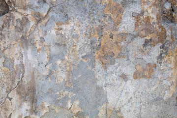 Fotobehang Oude vuile getextureerde muur Old Weathered Bluish Damaged Concrete Wall Texture