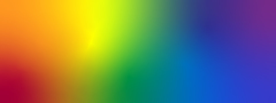 Rainbown Gradient Abstract Background