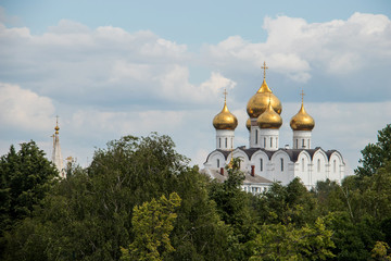 Yaroslavl. View from the belfry of the monastery