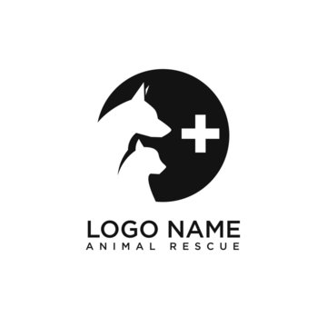 logo dog and cat rescue