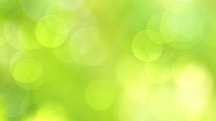 Wall Mural - Green abstract background blur
