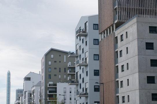 Immobilier bordeaux immeuble moderne