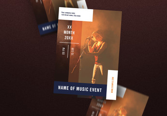Music Poster Layout