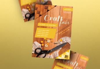 Craft Fair Poster Layout