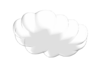 Cloud. Vector image, cloud data storage logo - free images, computer icons, cloud computing, upload, black and white cartoon hand drawn cloud cartoon bubble, thought bubble - Stock Photo Vector cloud