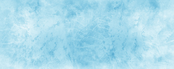blue watercolor background with white vintage marbled texture, distressed old textured painted paper design