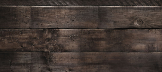 Very old and dark wood horizontal boards