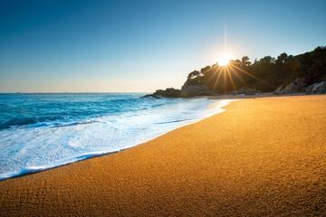 Fototapete - Tropical sunrise