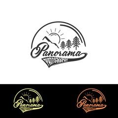 panorama photography logo