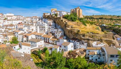 The beautiful village of Setenil de las Bodegas, Provice of Cadiz, Andalusia, Spain. Fototapete