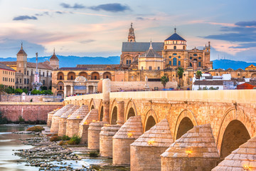Fototapete - Cordoba, Spain Skyline