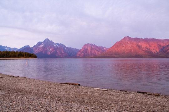 Sunrise in Grand Teton National Park