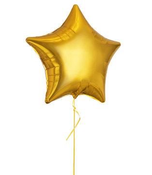 Golden Balloon Star