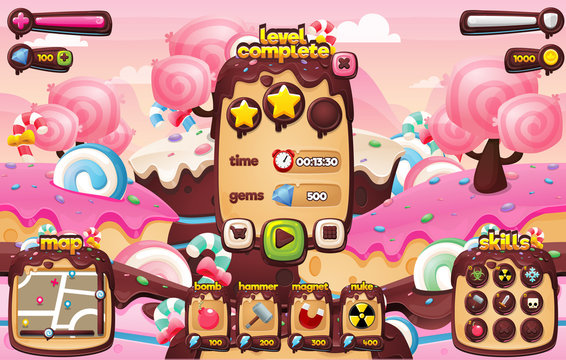 Candy Game GUI