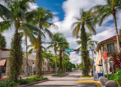Lincoln Road Miami Beach FL USA