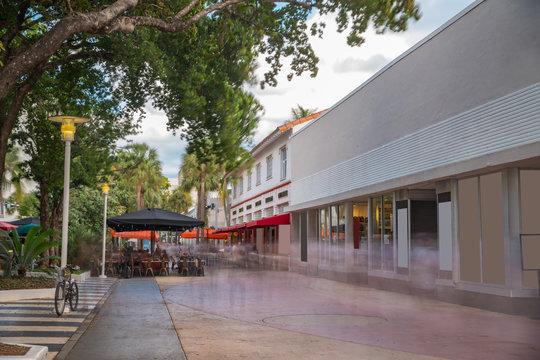 Outdoors at Lincoln Road Miami Beach tourism destination