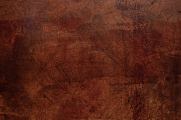 Fotobehang - Grunge texture of a dilapidated wall in a red tone background