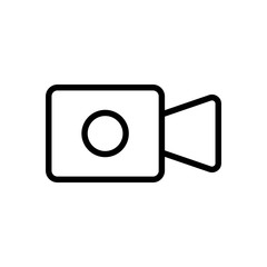 Video play icon design templates, movie icon vector