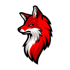 Vector of Fox mascot for sport logo