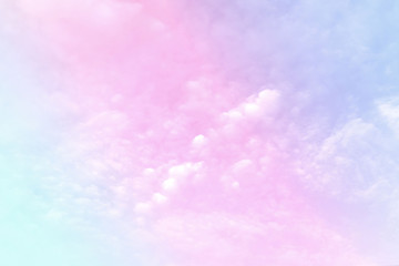 Fotobehang Purper Pastel gradient blurred sky, A soft cloud, background texture concept.