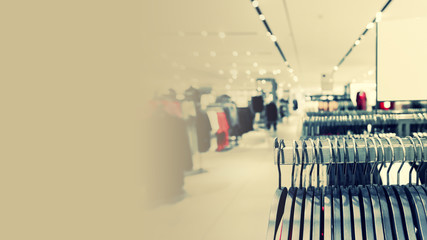 Clothing store image and website  banner