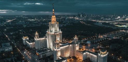 Moscow bird's-eye view