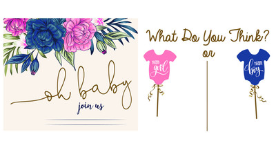 baby shower  greeting card template, stylized symbol of mom and baby, Pregnancy Logo Design Template Inspiration