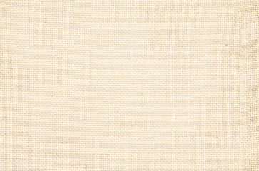 Cream pastel texture background. Haircloth or blanket wale linen canvas wallpaper. Rustic canvas...