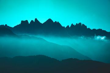 Fotorollo Turkis Dolomiten - Geissler Spitze - Alto Adige Italy