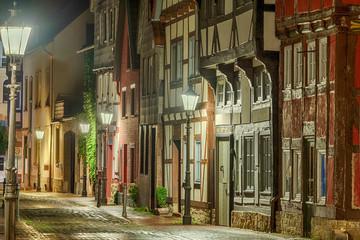 historische Altstadt Gasse Rinteln