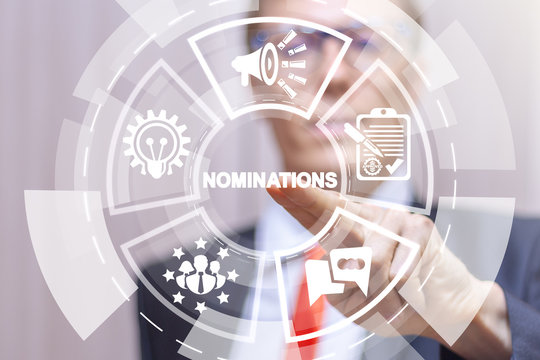 Nominations Proposing Leader Submitting Achievement Recommendation Concept.
