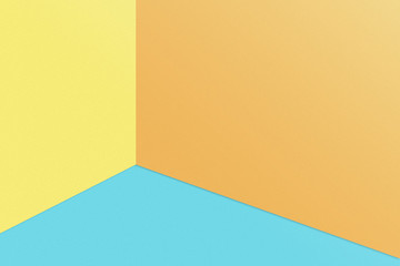 abstract pastel colourful minimalism for background. Concept geometry with simple shape.